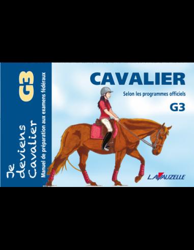 JE DEVIENS CAVALIER - G3